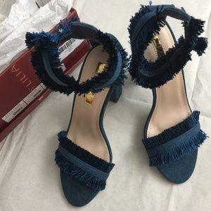 Liliana Denim fridge heeled Sandals